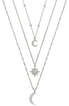 Ettika Night Sky Women's Necklace Set