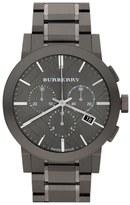 Burberry Large Chronograph Bracelet Watch, 42mm