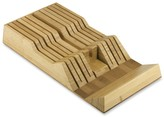 Shun 11-Slot In-Drawer Bamboo Knife Tray