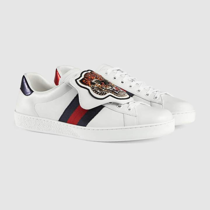 Gucci Ace tiger patch