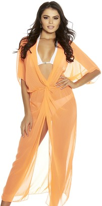 Forplay Women's Yacht Life Vibrant Sheer Swimsuit Cover-up