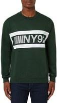 Topman Men's 'Ny92' Graphic Sweatshirt