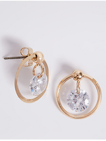 M&S Collection Gold Plated Bling Float Earrings