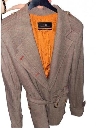 Carolina Herrera Brown Wool Jacket for Women
