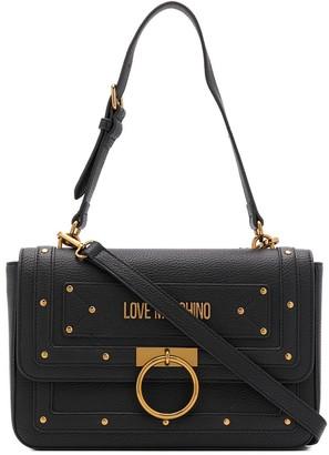 Love Moschino stud-embellished shoulder bag