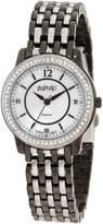 August Steiner Women's ASA827TTB Dazzling Diamond Bracelet Watch