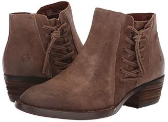 Børn Bessie (Taupe Distressed) Women's Slip on Shoes
