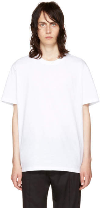 Versace White Small Medusa T-Shirt