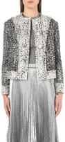 Christopher Kane Cropped tweed jacket