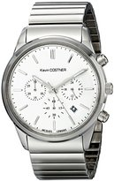 Jacques Lemans Unisex KC-103D Kevin Costner Collection Analog Display Quartz Silver Watch