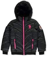 U.S. Polo Assn. Little Girls' Insulated Winter Jacket