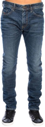 Diesel Jeans Thommer Slim Skinny Stretch Denim Jeans With 5 Pockets