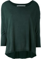 Raquel Allegra knitted top - women - Rayon - 0
