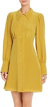 Kate Spade Matte Silk Shirtdress