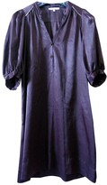 Maje Purple Silk Dress for Women