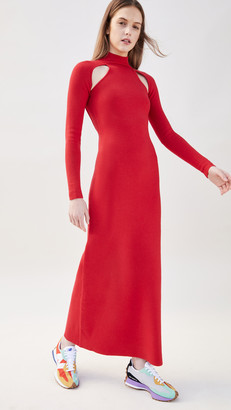 Victor Glemaud T Neck Dress