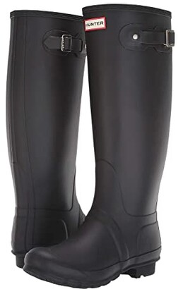 Hunter Tall Wide Leg Rain Boots