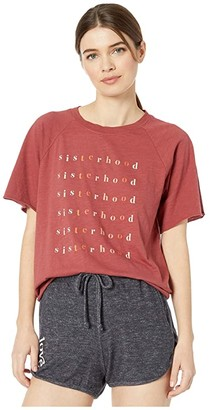good hYOUman Rowan Sisterhood Tee (Cinnamon) Women's Clothing