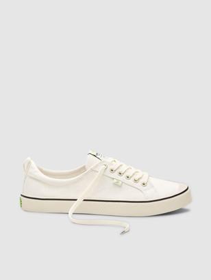 Cariuma OCA Low Stripe Off-White Canvas Sneaker Men