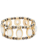 Nanette Lepore Oval Statement Stretch Bracelet