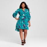Merona Women's Plus Size Printed Shirtdress