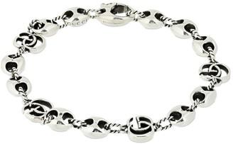 Gucci Gg Marmont Bracelet W/ Marina Chain