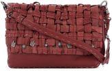 Henry Beguelin Red Leather Shoulder Bag