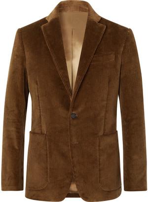 Salle Privée Esben Slim-Fit Cotton-Corduroy Suit Jacket