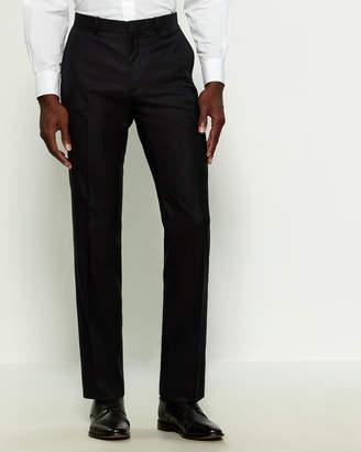 Theory Black Marlo Wool Dress Pants