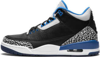 Jordan Air 3 Retro 'Sport Blue' Shoes - Size 8