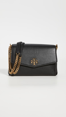 Tory Burch Kira Pebbled Small Convertible Shoulder Bag