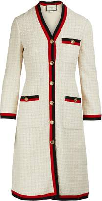 Gucci Sylvie tweed coat