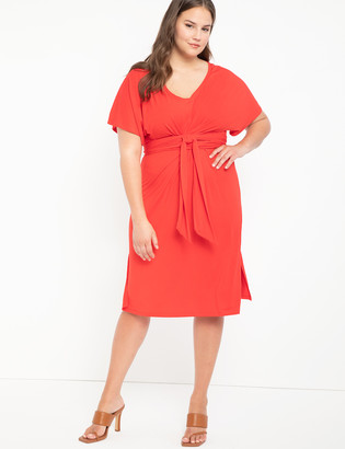 ELOQUII Wrap Around Dress