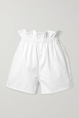Philosophy di Lorenzo Serafini Cotton-twill Shorts - White