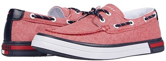 Tommy Hilfiger Realm 2 (Red Chambray) Men's Shoes