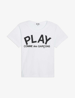 Comme des Garcons Graphic-print cotton-jersey T-shirt 2-6 years