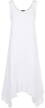 James Lakeland Handkerchief Hem Linen Dress