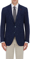 Isaia Men's Sanita Two-Button Sportcoat-NAVY