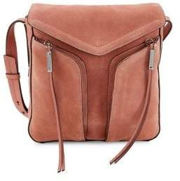 Vince Camuto Leather & Suede Crossbody Bag