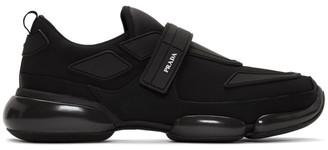 Prada Black Gabardine Cloudbust Sneakers