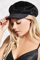 Forever 21 FOREVER 21+ Velvet Cabby Hat