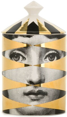 Fornasetti Losanghe Gold scented candle (300g)