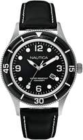 Nautica A15641G - Men's Watch, Leather, Color:
