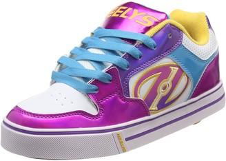 Heelys Girls Motion Plus Low-Top Sneakers White (White / Fuschia / Multi) Size:UK 5 (38 EU)