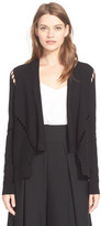 Milly Bar Inset Open Jacket