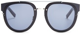 DIOR HOMME SUNGLASSES BlackTie 143S pantos-frame sunglasses