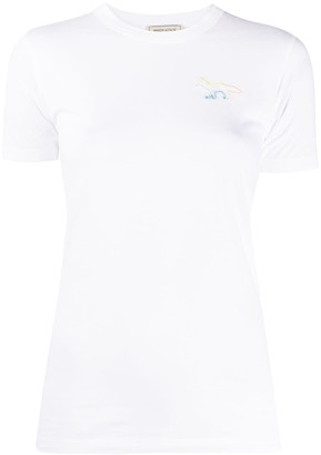 MAISON KITSUNÉ fitted T-shirt