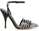 Thumbnail for your product : Marco De Vincenzo Crystal Slingback