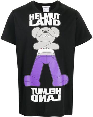 Helmut Lang graphic logo T-shirt