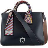 Paula Cademartori Black Leather Handle Bag